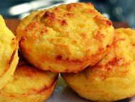 Рецепта Кето соленки с крема сирене, моцарела и бадемово брашно